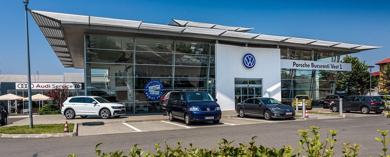 Porsche Bucuresti Vest 1 - Vanzari VW si Skoda, Service, Piese de schimb si accesorii