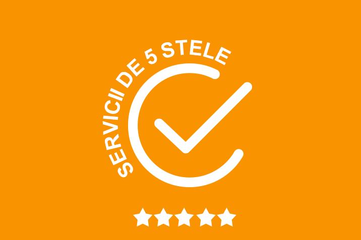 SERVICII DE 5 STELE